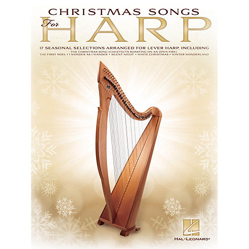 Hal Leonard Christmas Songs for Harp Folk Harp Series Softcover-thumbnail