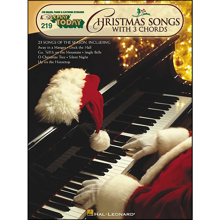 Hal Leonard Christmas Songs with 3 Chords E-Z Play 219