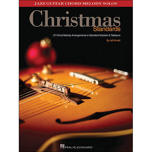 Hal Leonard Christmas Standards Jazz Guitar Chord Melody Solos-thumbnail