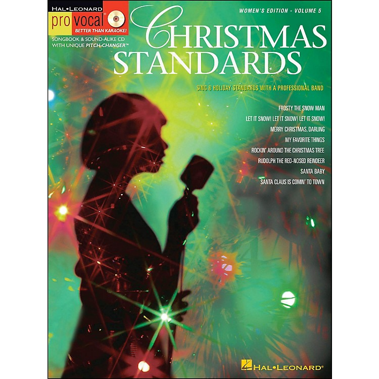 Hal Leonard Christmas Standards for Female Singers Pro Vocal Songbook Volume 5 Book/CD