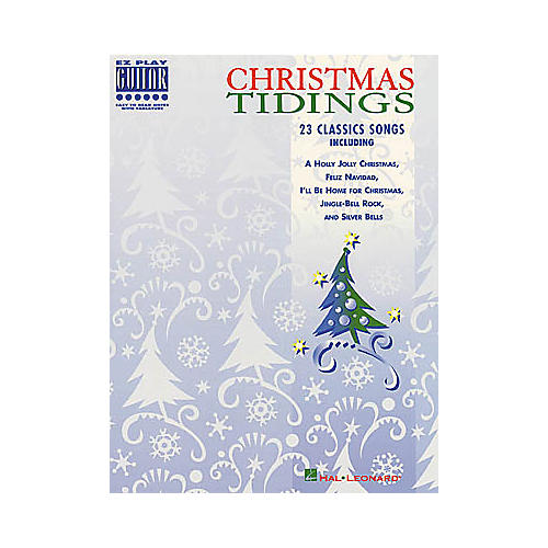 Hal Leonard Christmas Tidings Easy Guitar Book