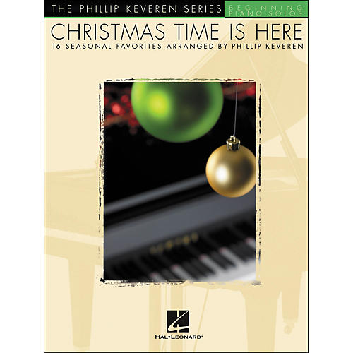 Hal Leonard Christmas Time Is Here Beginning Piano Solos-thumbnail