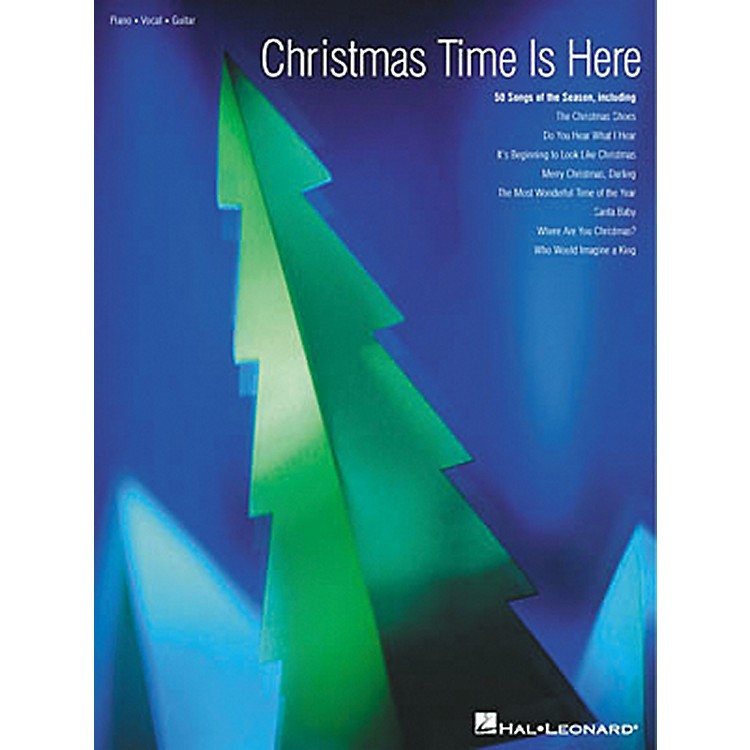 Hal LeonardChristmas Time Is Here Piano, Vocal, Guitar Songbook