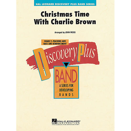 Hal Leonard Christmas Time with Charlie Brown - Discovery Plus Concert Band Series Level 2 arranged by John Moss-thumbnail