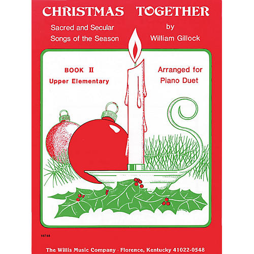 Willis Music Christmas Together, Book 2 (1 Piano, 4 Hands/Later Elem Level) Willis Series-thumbnail