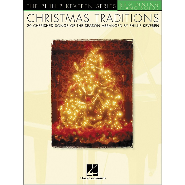 Hal LeonardChristmas Traditions - The Phillip Keveren Series Beginning Piano Solos