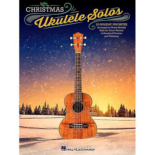 Hal Leonard Christmas Ukulele Solos - 20 Holiday Favorites Arranged in Chord-Melody Style For Tenor Uke-thumbnail