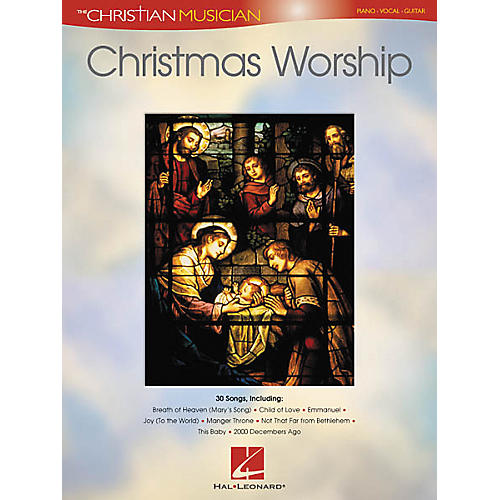 Hal Leonard Christmas Worship Piano, Vocal, Guitar Songbook-thumbnail