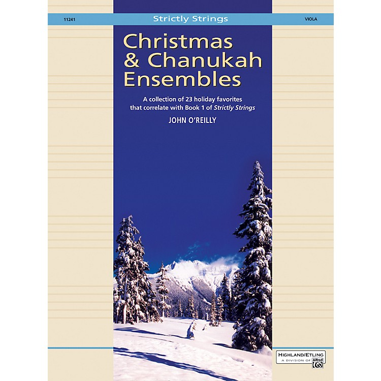 Alfred Christmas and Chanukah Ensembles Viola