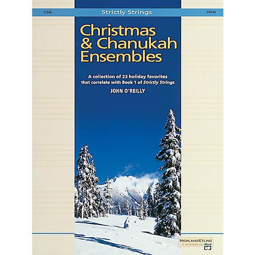 Alfred Christmas and Chanukah Ensembles Violin