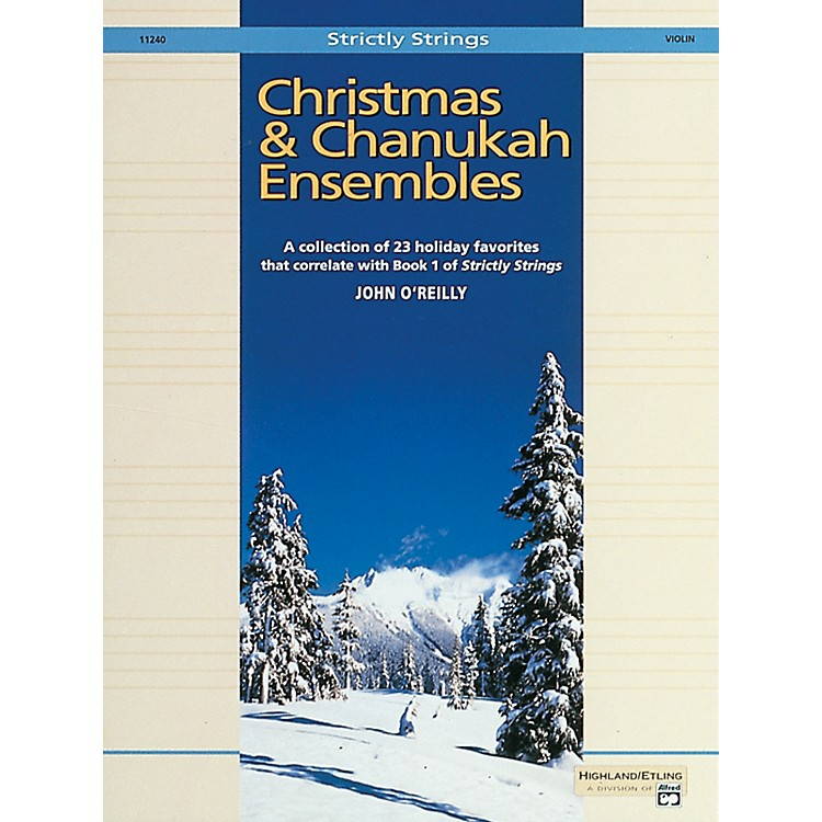 Alfred Christmas and Chanukah Ensembles Violin