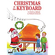 SCHAUM Christmas at the Keyboard (Level 1 Elem Level) Educational Piano Book