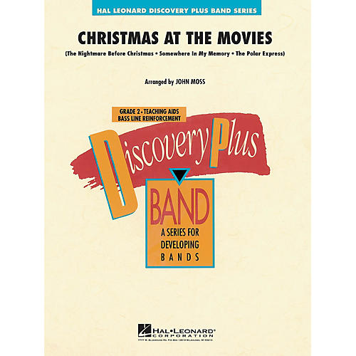 Hal Leonard Christmas at the Movies - Discovery Plus Concert Band Series Level 2 arranged by John Moss-thumbnail