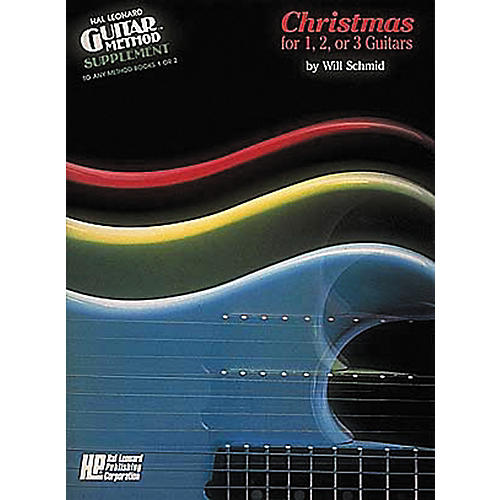 Hal Leonard Christmas for 1, 2, or 3 Guitars Method Book