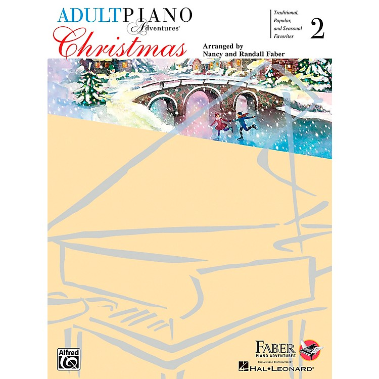 Faber Piano Adventures Christmas for All Time Level 2 - Adult At The Piano - Faber Piano