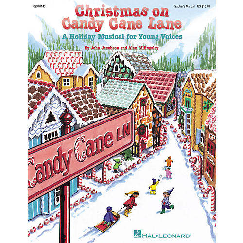 Hal Leonard Christmas on Candy Cane Lane (Musical) PREV CD Composed by John Jacobson-thumbnail