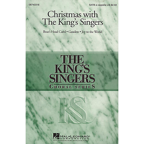 Hal Leonard Christmas with the King's Singers (Collection) SATB by The King's Singers arranged by Brian Kay-thumbnail