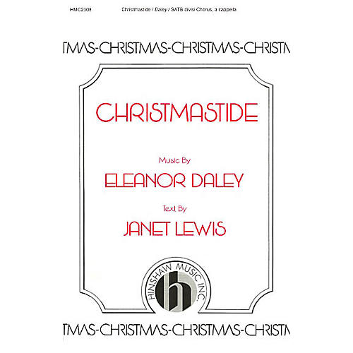 Hinshaw Music Christmastide SSAATTBB composed by Eleanor Daley-thumbnail