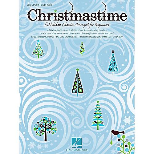 Hal Leonard Christmastime - Beginning Piano Solo Songbook-thumbnail