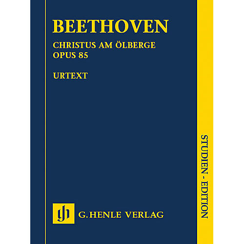 G. Henle Verlag Christus am Ölberge, Op. 85 Henle Study Scores by Ludwig van Beethoven Edited by Anja Mühlenweg-thumbnail