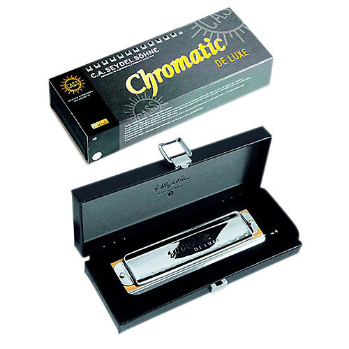 SEYDEL Chromatic DE LUXE Harmonica Low F