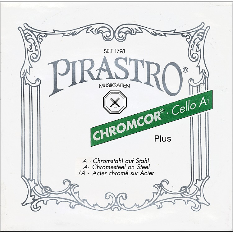 Pirastro Chromcor Plus 4/4 Size Cello Strings 4/4 Size Set