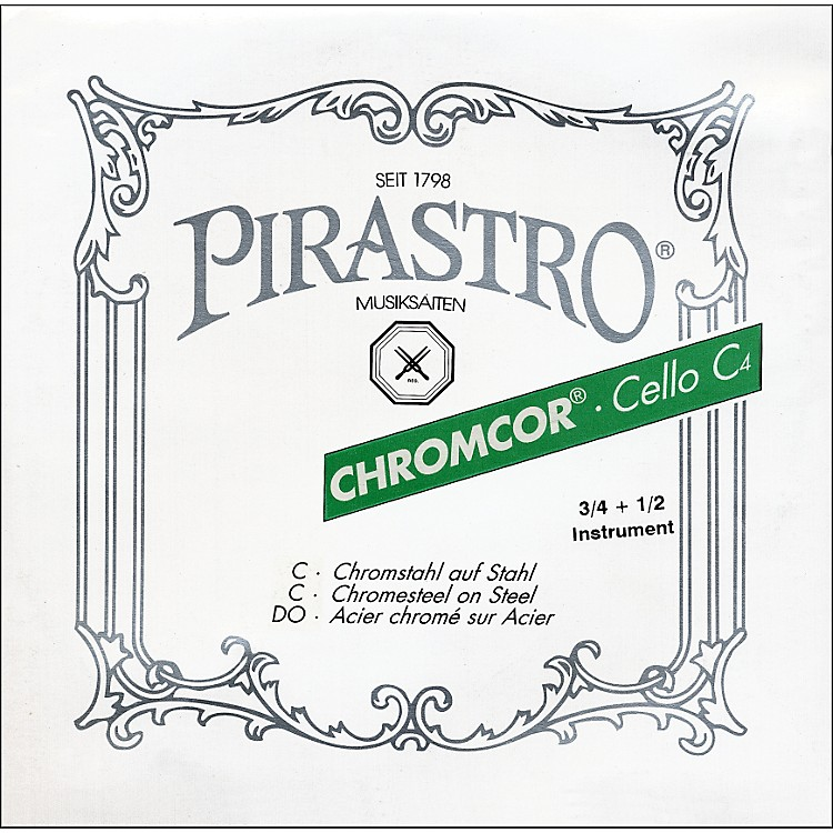 Pirastro Chromcor Series Cello D String 4/4