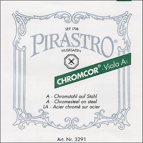 Pirastro Chromcor Series Viola String Set 16.5-16-15.5-15-inch