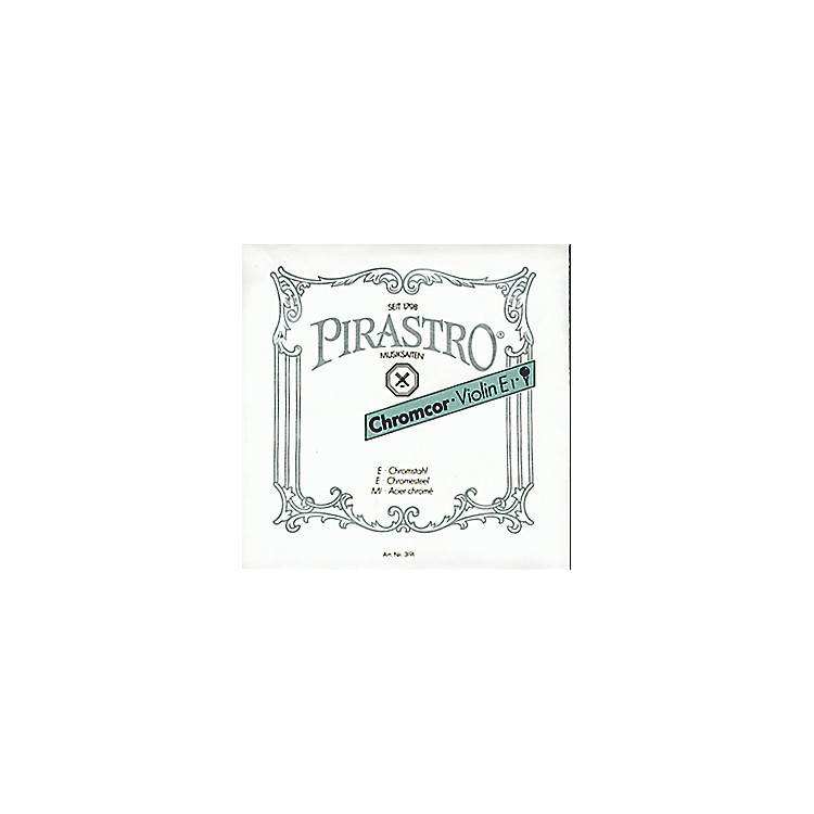 Pirastro Chromcor Series Violin String Set 4/4 with E Loop End