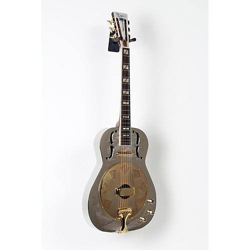 Dean Chrome G Acoustic-Electric Resonator Guitar Chrome/Gold 888365618111