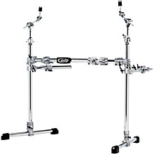 Open Box PDP by DW Chrome Plated Drum and Cymbal Rack Package
