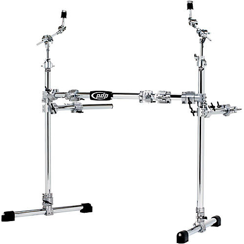 PDP Chrome Plated Drum and Cymbal Rack Package