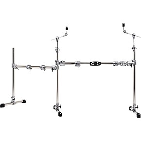 pdp by dw chrome plated main and side drum rack package musician 39 s friend. Black Bedroom Furniture Sets. Home Design Ideas
