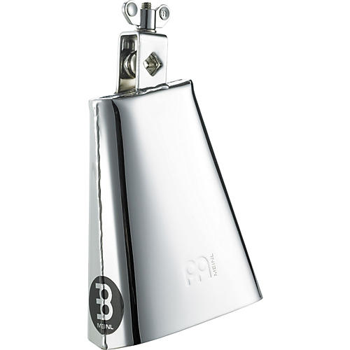 Meinl Chrome Steel Cowbell  6.25 Inches