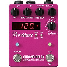 Open BoxProvidence Chrono Delay / Digital Delay Effects Pedal