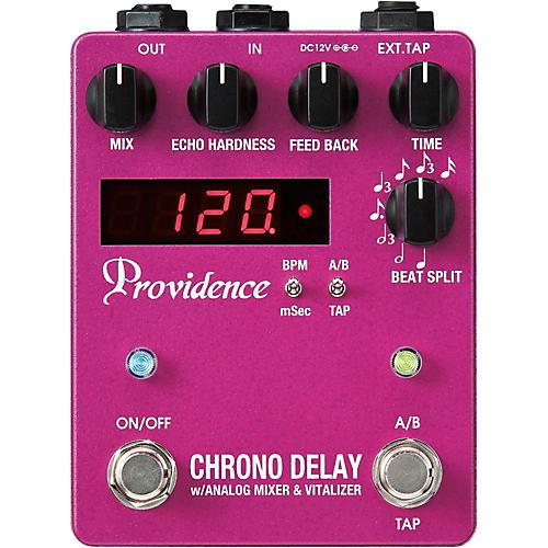 Providence Chrono Delay / Digital Delay Effects Pedal-thumbnail