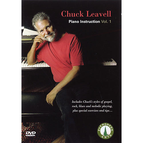 Evergreen Arts Chuck Leavell - Piano Instruction, Vol. 1 DVD Series DVD Performed by Chuck Leavell
