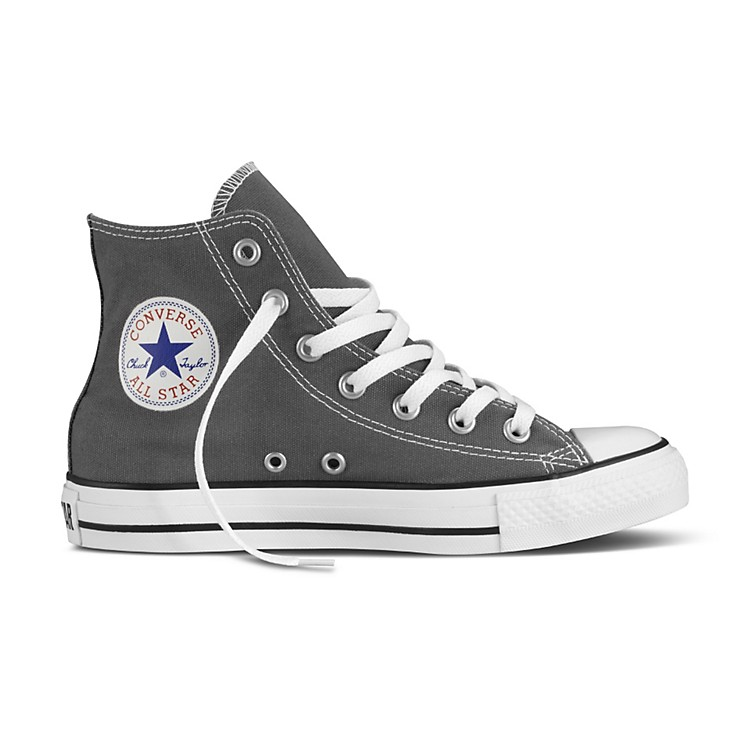 Converse Chuck Taylor All Star Core Hi-Top Charcoal Mens Size 8