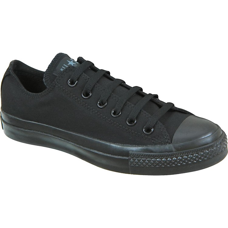 Converse Chuck Taylor All Star Core Oxford Low-Top Black Mono Mens Size 10