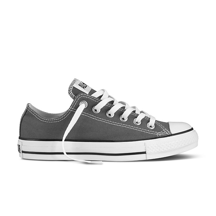 Converse Chuck Taylor All Star Core Oxford Low-Top Charcoal Mens Size 13