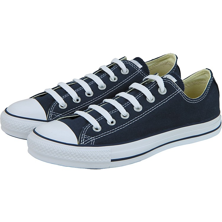 Converse Chuck Taylor All Star Core Oxford Low-Top Navy Mens Size 12