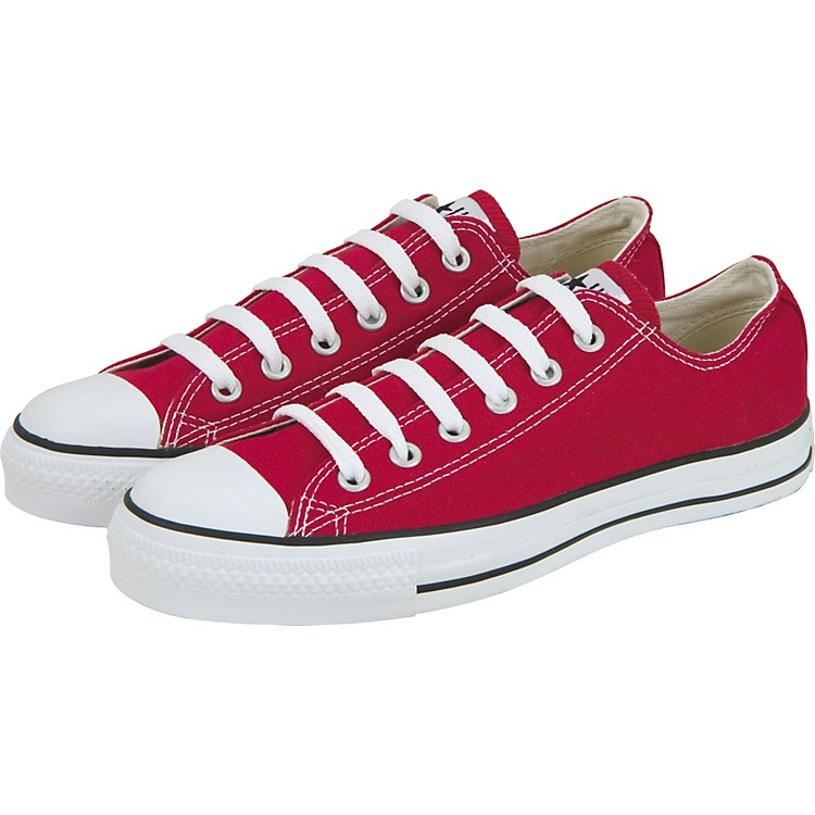 Converse Chuck Taylor All Star Core Oxford Low-Top Red Mens Size 10