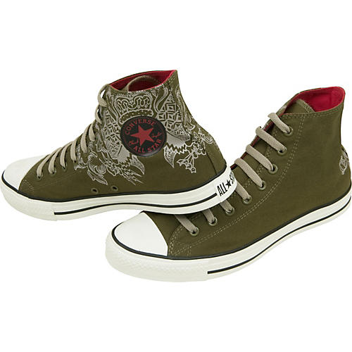 Converse Chuck Taylor All Star Crest Hi-Top Sneakers