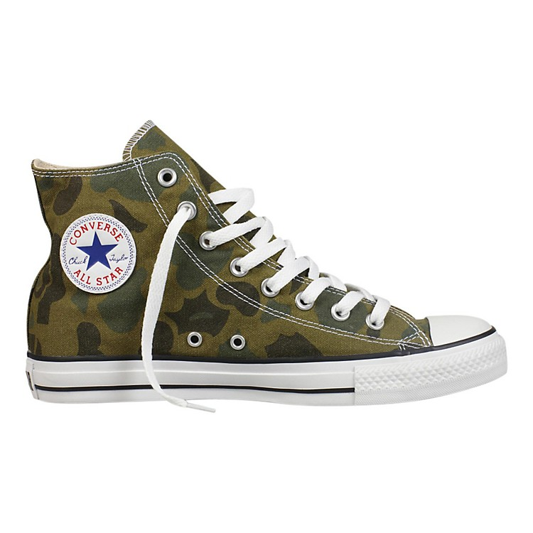 Converse Chuck Taylor All Star Hi - Olive Branch Camo Mens Size 09