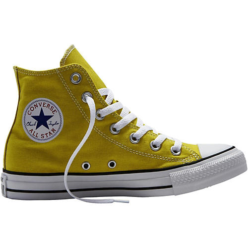 Converse Chuck Taylor All Star Hi Top Bitter Lemon Straw Yellow 11.5