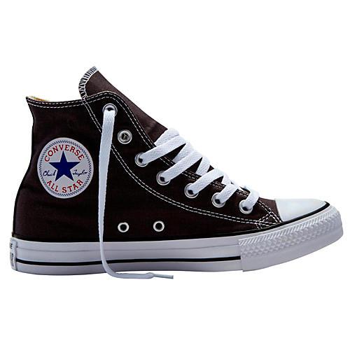 Converse Chuck Taylor All Star Hi Top Dusk Grey Charcoal 3