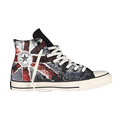 Converse Chuck Taylor All Star High-Top Black/Chili Pepper/Vintage Indigo Flag