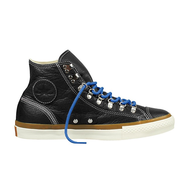Converse Chuck Taylor All Star Hiker Leather High-Top Black Mens Size 12