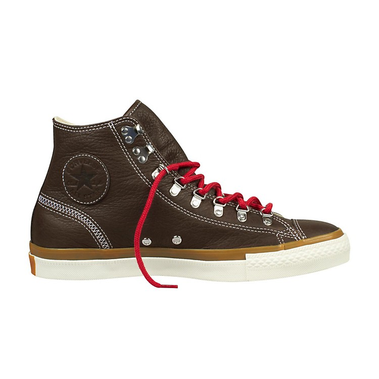 Converse Chuck Taylor All Star Hiker Leather High-Top Chocolate Mens Size 10