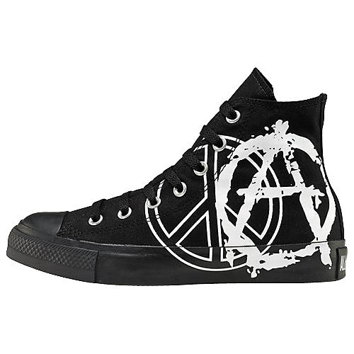 Converse Chuck Taylor All Star Peace/Anarchy Print Hi-Top